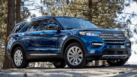 custom order 2021 ford explorer with our team from factory